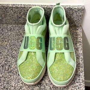 Ugg  sock chunky glitter sneaker size 8 NWOT